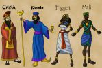 Leaders of the Ancient World by DaBrandonSphere