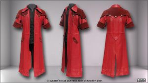 Leather longcoat Dante - DMC 4 by Svetliy-Sudar