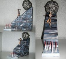 PERSPECTIVES Lara Croft Tomb Raider II Papercraft by ValhallaAsgard
