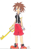 Sora as a Girl by kilala813