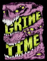 Grime Time Monster by KillerNapkins