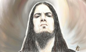 Phil Anselmo sketch by red20
