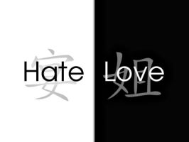 Hate and Love by tamaiide