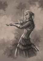 Violin by GaiasAngel