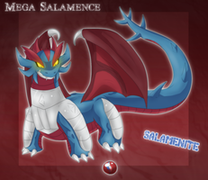 MEGA SALAMENCE by gretellu