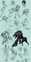 Sketch Dump 11 by DIN0LICH