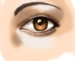 realistic eye-first attempt by balletbunhead20