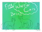 FREE Warrior Cats Linearts! by 0CAT