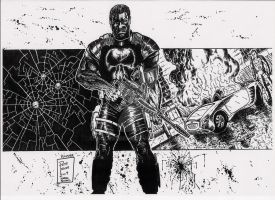 Punisher- Marvel Knights by wolvesbear