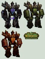 WoW Fel Reaver Cut Out Pack by atagene