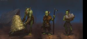 goblin farmers by texahol
