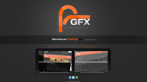 French-gfx accueil by passelanderomain