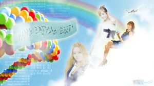 Happy Birthday Sica by JellYTaengooOoO