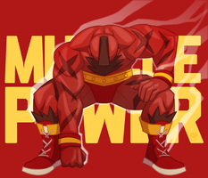 muscle power by samuraiblack