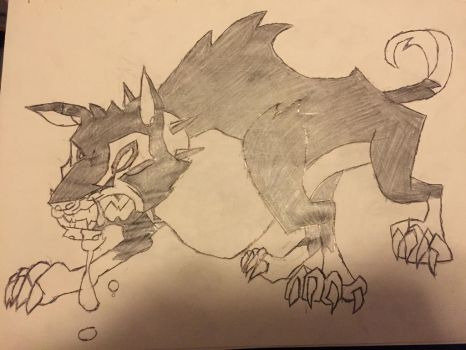 Sly Cooper 3 Wolf Concept Art by Buzzfuzz-Senpai