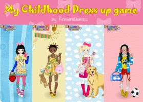 My childhood dress up game by Rinmaru