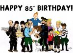 Tintin 85 by Ad1er