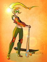 Samus Skater by Flying-Fox