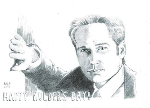 Happy Mother's Day 2017 David Duchovny Mulder by DoctorFantastic
