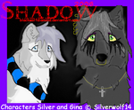Silver and Gina by blackwolfdiamond