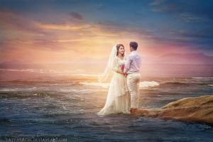 Vietnamese wedding by TatyanaChe