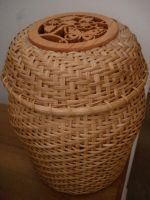 Ginger Jar Basket by Kuppalatte