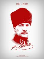 Mustafa Kemal Ataturk by engin-design
