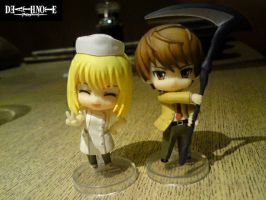 DN: Misa and Raito Yagami 6 by ILICarrieDoll