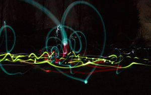 Abstract lights by lebreton