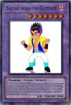 Gotenks yugioh card by diego-toon-master