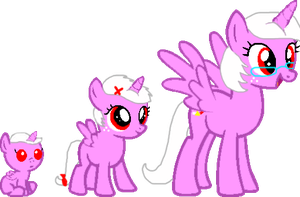 Princess Shine's growth by MLP-WhiteNoise