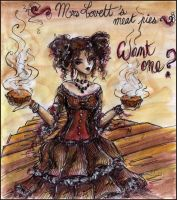 . Mrs Lovett . by Dark-Unik0rn