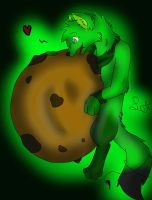 .:Dare:. Mikuni and GIANT COOKIE by Letipup