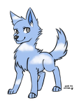 Wolf Adopt #6 OPEN by Harmonic-Adopts
