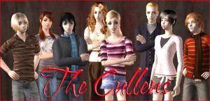 The Cullens by blissfulmelodie