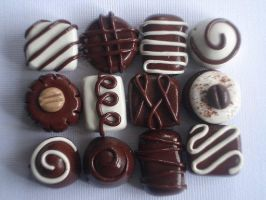 Chocolate Assortment Beads by So0oSugarySweet