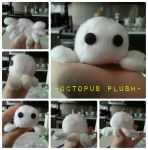 -Octopus Plush- by nightstrikers