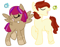 1/2 ponies open for sale :: price cut by InuLover097