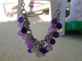 Cotton Candy Necklace 2 by Mommy-of-Monsters