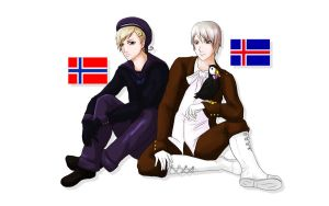 APH: Norway and Iceland by LadySwallow