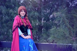 princess anna by Iris-Iridescence