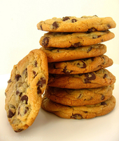 Chocolate Chip Cookie Tower by PoptartsAreSexyy