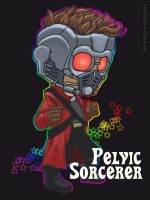 Guardians of the Galaxy -- Starlord Keychain by The-Z