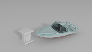 Low Poly Asset #2: Yacht (boat) by ImadEdd
