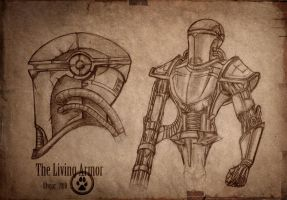 The Living Armor by Ulvgar