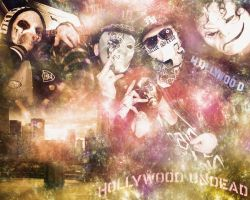 Hollywood Undead Wallpaper by thegame95