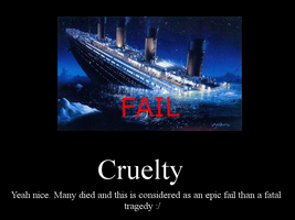 Cruelty Demotivational by ZuStorm