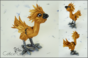 Golden Rooster by CalicoGriffin
