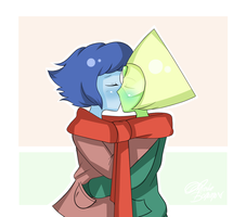 Christmas Kisses by colorfulkitten
