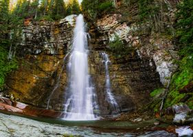Virginia Falls by KRHPhotography
